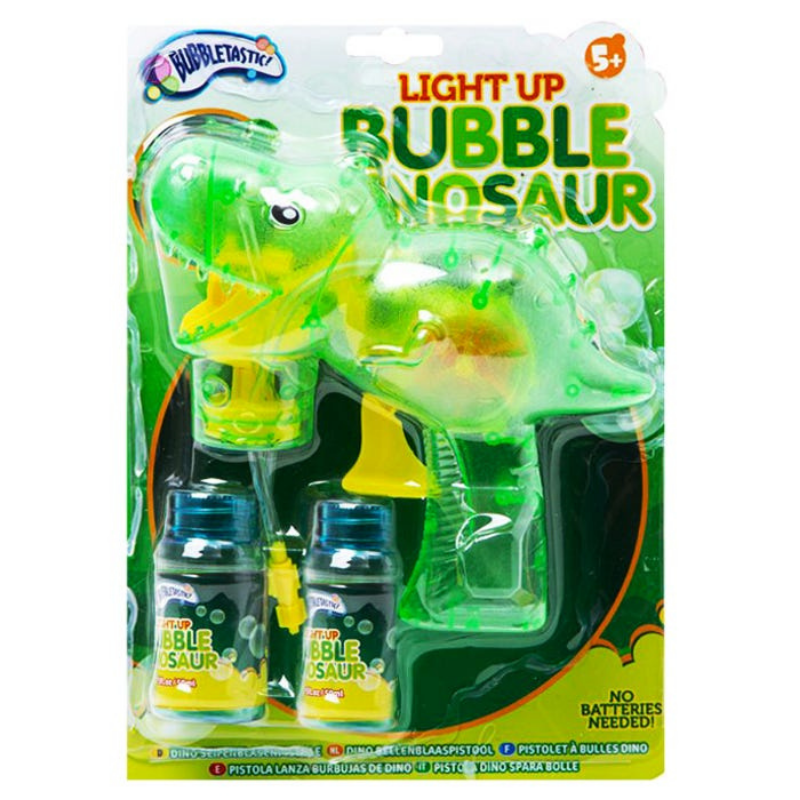 Dino Light Up Bubble Dinosaur