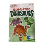 PLAY PROJECT MOULD & PAINT DINOSAUR