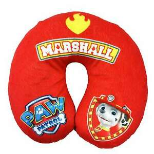 paw patrol reversible marshall travel pillow