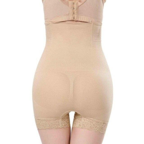 Flat Angle Lace High Waist Body Shaping Elastic Beam Waist - Easy Pickins Store