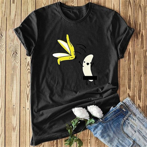 Graphic Polyester Funny T-Shirt - Easy Pickins Store