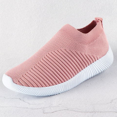Sneakers Slip on Knitting Breathable