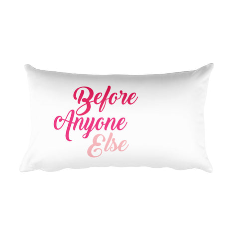 Before Anyone Else Teflon Pillow