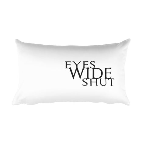 Eyes Wide Shut Teflon Pillow
