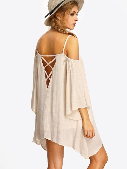 Strappy Hollow Dress