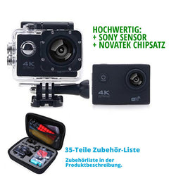 F60B 4K Actioncam WiFi Set - DayDeals.ch