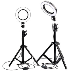 LED Ring Light Photo Studio Camera Light Photography Dimmable Video light for Youtube Makeup Selfie with Tripod Phone Holder - DayDeals.ch