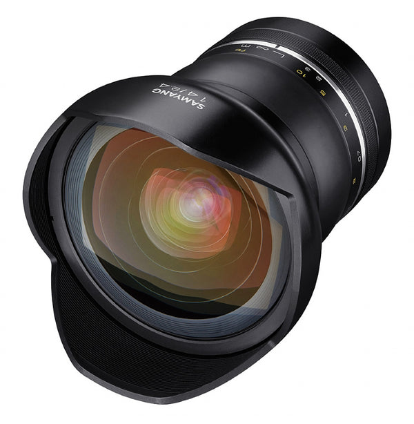 Samyang XP 14mm F2.4 Lens for CANON AE - front view
