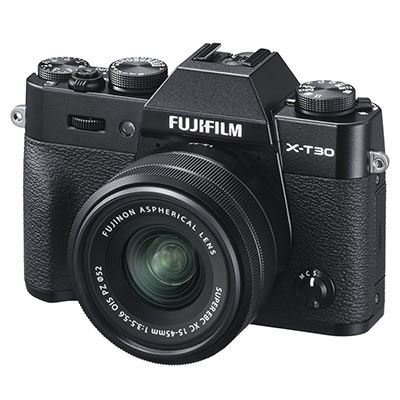 Fujifilm X-T30 Camera & XC 15-45mm Lens