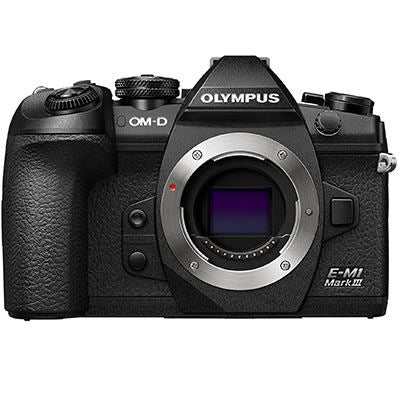 Olympus OM-D E-M1 Mark III Digital Camera - front view