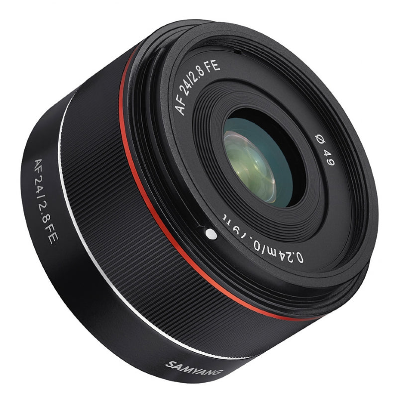 Samyang AF 24mm F2.8 SONY FE Lens without lens hood