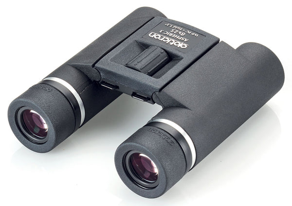Opticron Aspheric 3 Binoculars - eyepiece and top view 8x25