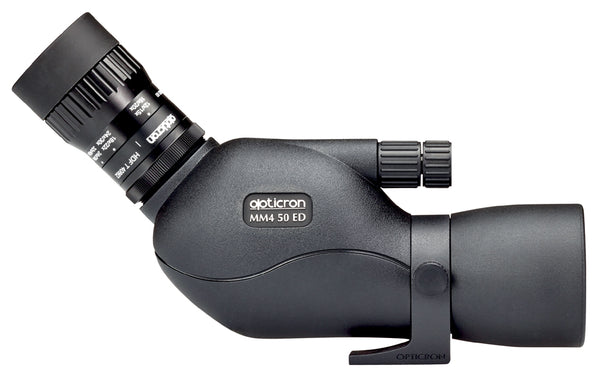 Opticron MM4 50 GA ED/45 Angled Body Spotting Scope shown eye piece