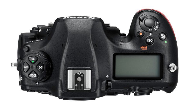 Nikon D850 Camera - Body Only - top