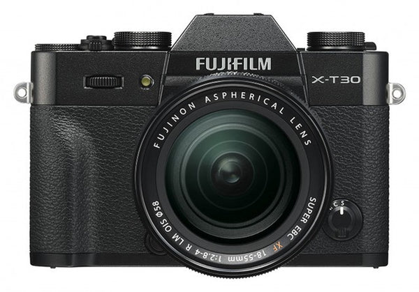 Fujifilm X-T30 Camera & XF 18-55mm Lens Black