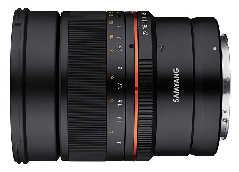 Samyang MF 85mm F1.4 Lens CANON RF - side view