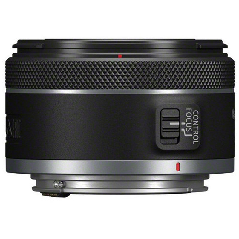 Canon RF 50mm f1.8 STM Lens - side view