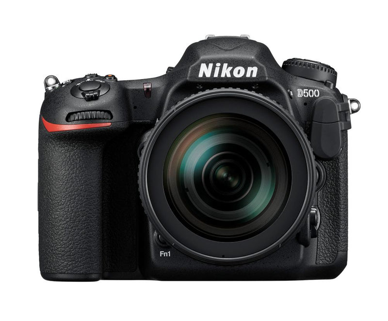 Nikon D500 Camera - shown with lens in image