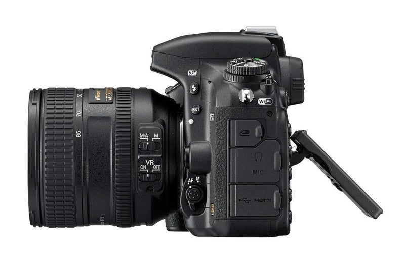 Nikon D750 Camera - Body Only - shown with lens - left