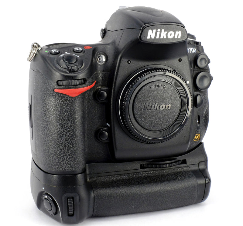 Used Nikon D700 Digital SLR Camera Body & MB-D10 Grip