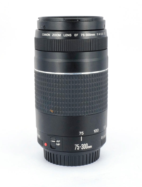 Used Canon 75-300mm EF II 4-5.6 Lens