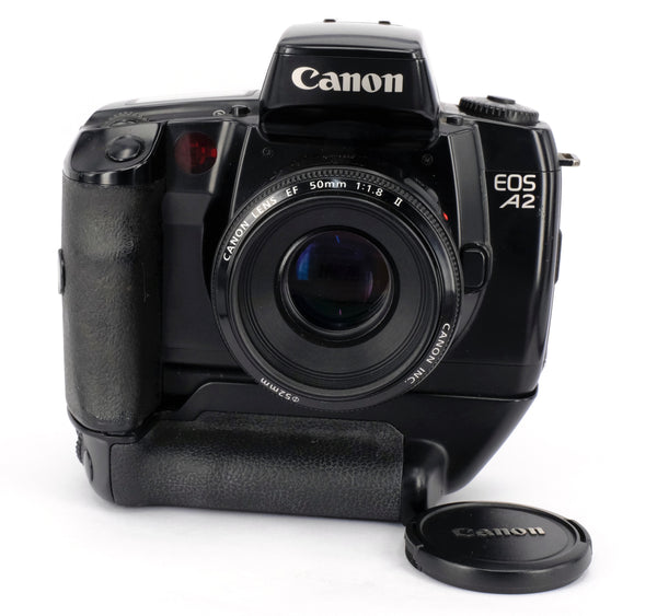 Used Canon eos A2 + 50mm f1.8 EF 35mm SLR