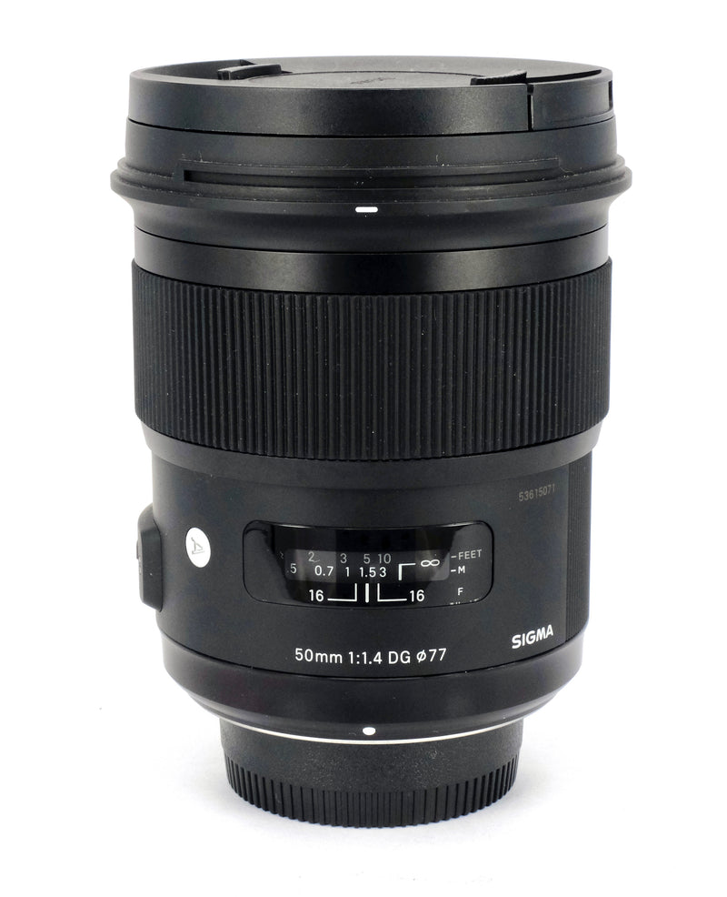 Used Sigma 50mm f1.4 Art Lens (Nikon Fit)