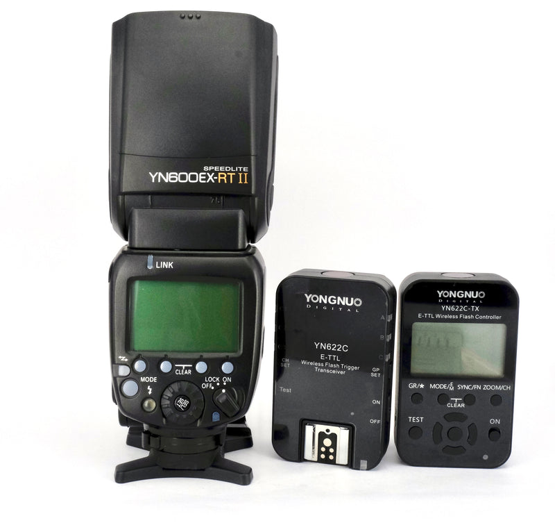 YONGNUO YN600EX-RT II Flashgun Set (Canon Fit)