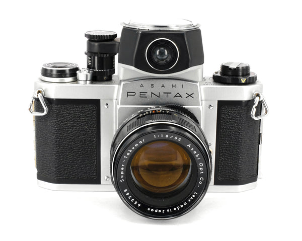 Used Pentax SV + 55mm f1.8 and Lighmter 35mm SLR