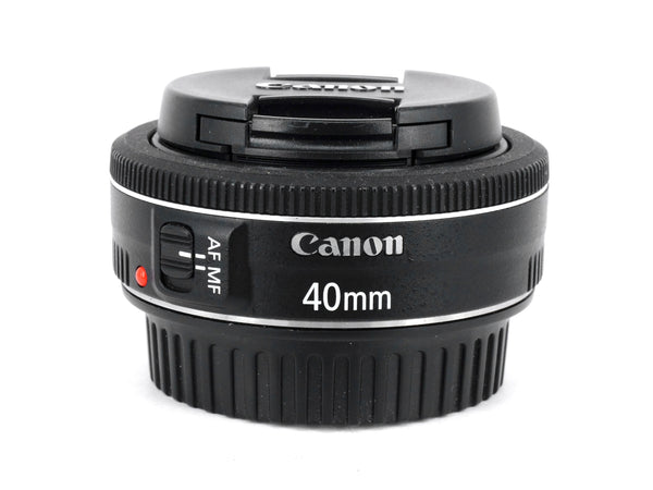 Used Canon EF 40mm f2.8 STM Lens