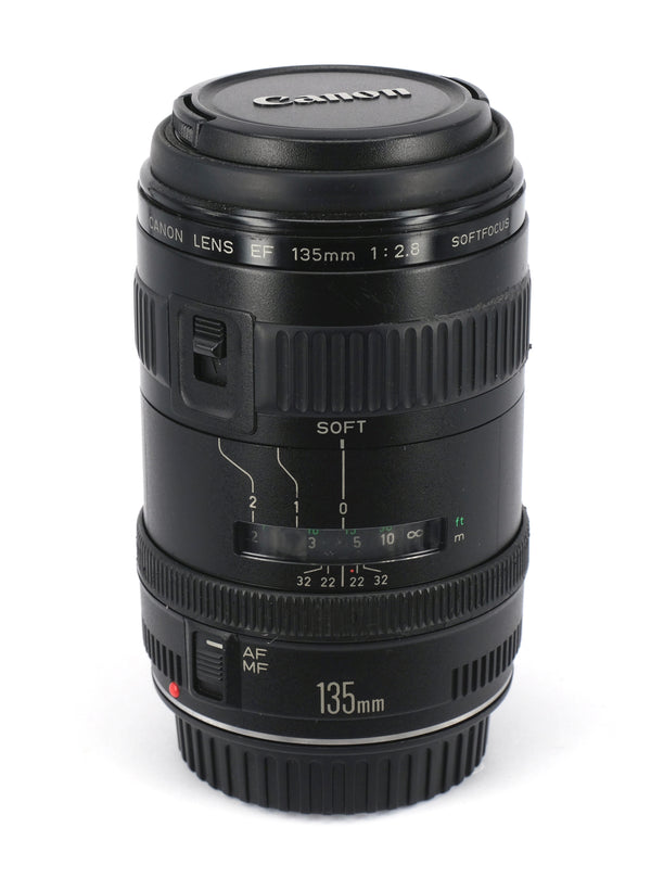Used Canon EF 135mm f/2.8 Soft Focus Lens
