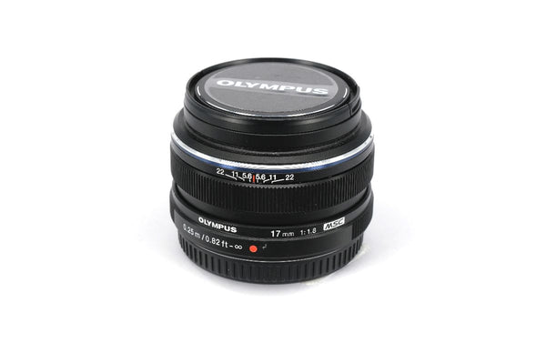 Used Olympus M.Zuiko Digital 17mm f1.8 Lens