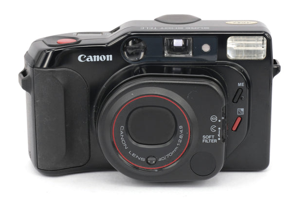 Used  Canon Sureshot Tele 35mm Compact Camera