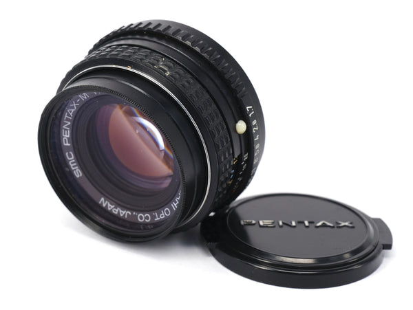 Used Pentax 50mm f1.7 SMC Lens
