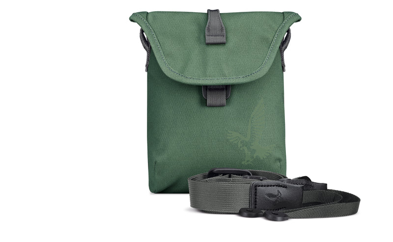 Field bag and hard wearing strap in Urban Jungle