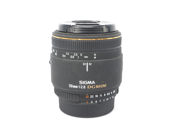 Used Sigma 50mm 1:2.8 DG Macro Lens (Nikon Fit)