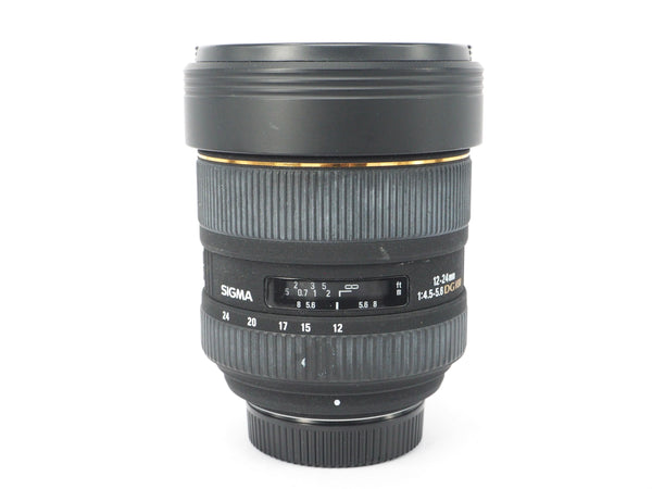 Used Sigma 12-24mm 1:4.5-5.6 DG HSM (Canon Fit)