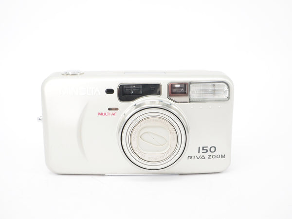 Used Minolta Riva Zoom 150 35mm Compact Camera