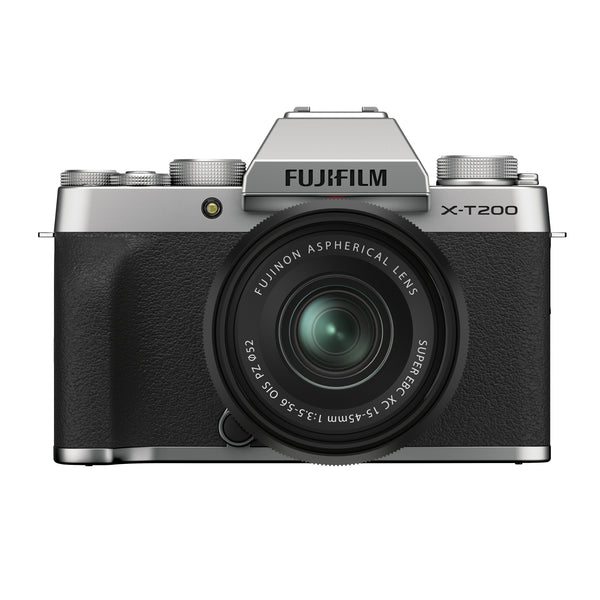 Fujifilm X-T200  Camera with 15-45MM XC Lens Silver