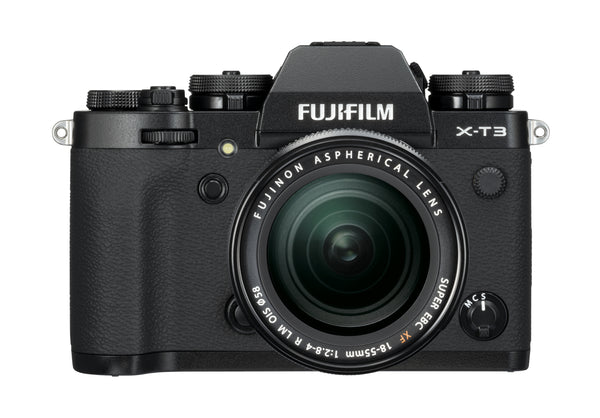 Fujifilm X-T3 Camera & XF 18-55mm Lens Black