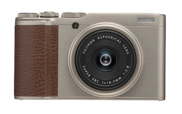 Fujifilm XF10 Compact Camera in champagne gold