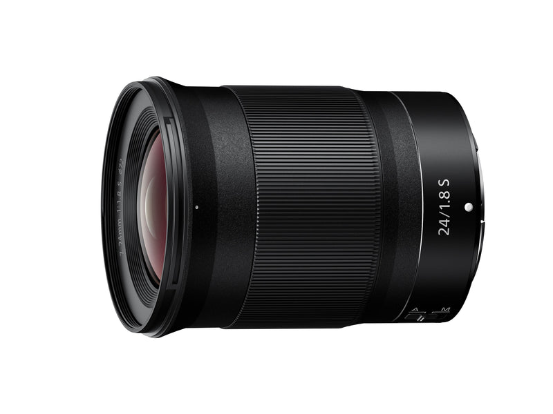 Nikon Z 24mm f/1.8 S Lens - side view