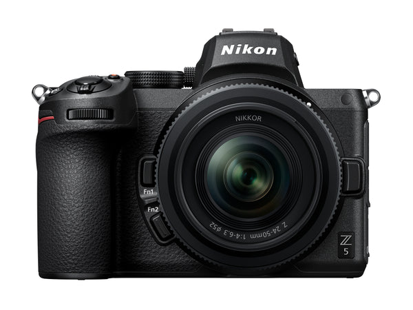 Nikon Z5 Camera with 24-50mm Lens - front view