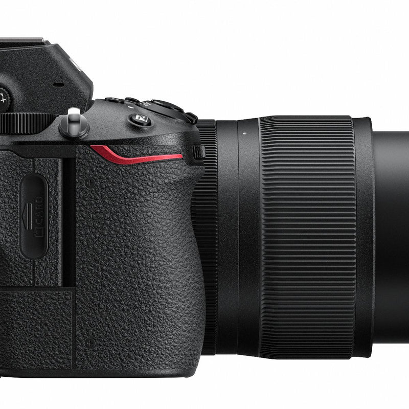 Nikon Z6 with 24-70mm f/4 Lens Kit - close up side view