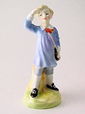 Royal Doulton c1950-1973 Royal Doulton Little Boy Blue Figurine - DimpzBazaar.com