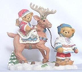 "Cherished Teddies Enesco Cherished Teddies Sven and Liv ""All Paths Lead to Kindness and Friendship"" - DimpzBazaar.com"