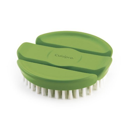 Cuisipro Cuisipro Flexible Vegetable Brush, Green - DimpzBazaar.com