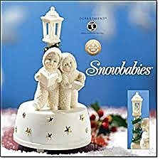 "Snowbabies ""Perfect Harmony"" Music Box ""Silver Bells"" Snowbabies Department 56 - DimpzBazaar.com"