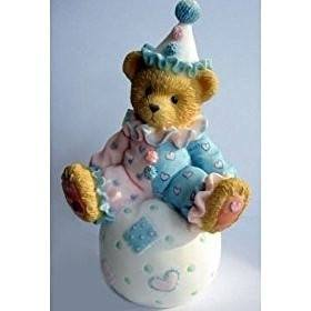 Cherished Teddies Cherished Teddies WALLY, Clown on Ball Figurine, 103934 - DimpzBazaar.com