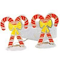 Department 56 Candy Canes: Brite Lites Lighted Village Accessory - DimpzBazaar.com